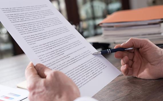 Een oproep voor professionelere documenten